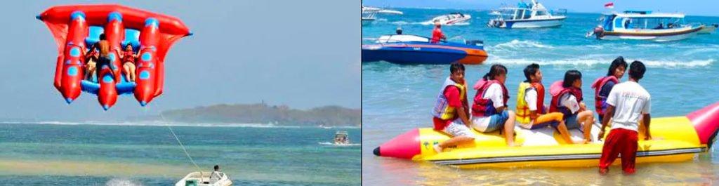 Photo of water activities at Nusa Dua Bali